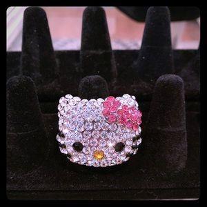 Swarovski Hello Kitty Ring